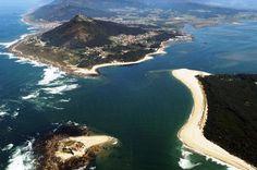 Desembocadura do Rio Miño. A Guarda. (Pontevedra). Galicia. Spain - Hotelgranproa.com