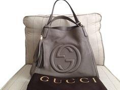 Gucci Shoulder Bag-- prefer the metallic silver
