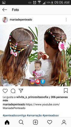 Cute Little Girl Hairstyles, Cute Girls Hairstyles, Up Hairstyles, Pretty Hairstyles, Braided Hairstyles, Young Girl Haircuts, Jasmine Hair, Girl Hair Dos, Rose Hair
