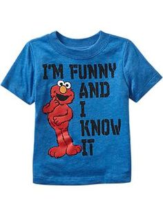 "Sesame Street® Elmo ""Im Funny And I Know It"" Tees for Baby"