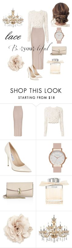 """""""::.. elegance ..::"""" by lidushkaa ❤ liked on Polyvore featuring Topshop, A.L.C., Jimmy Choo, The Horse, Dolce&Gabbana, Lazy Days, Chloé, Cara and Universal Lighting and Decor"""