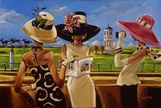 Trish Biddle | Fashion and Art Déco american painter |