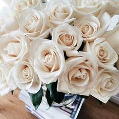 Find images and videos about white, flowers and rose on We Heart It - the app to get lost in what you love. Beautiful Roses, Pretty Flowers, Beautiful Mind, Beautiful Pictures, White Roses, White Flowers, Diy Food, My Flower, Planting Flowers