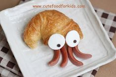 Cute Food For Kids?: Crescent Roll Hermit Crab