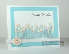 Easter Bunny, Blueprints 2 Die-namics, Wildflowers Centerpieces Die-namics - Michele Boyer #mftstamps