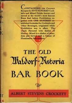 Rare Books Book Bar Waldorf Astoria Bartender Afternoon Tea Old Things
