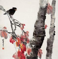 chinese brush painting | Showcase of Chinese Brush Paintings