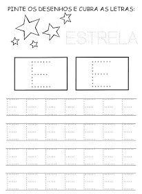 Nossa Pedagogia: Vogais pontilhadas Alphabet Worksheets, Preschool Worksheets, Preschool Activities, Maternelle Grande Section, Cutting Practice, Letter E, Handwriting Practice, All Schools, Winter Kids
