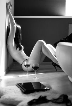 Wine is best without clothing