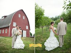 Country wedding barn wedding    www.amycloudphotography.com