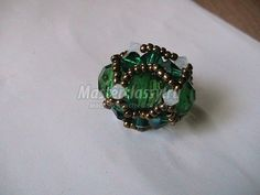 A ring of beads.  Ocherovanie.  Master class with step by step photo / Beading / Beaded Jewellery