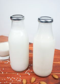 Make-Your-Own Milks (Almond & Coconut)
