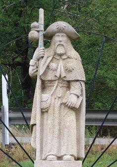 The Camino, Saint James, Wood Sculpture, Pilgrimage, Medieval, Hiking, Carving, Big 5, Catholic