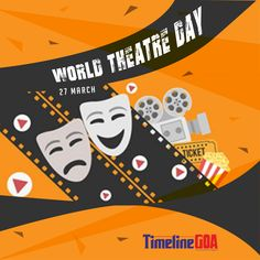There's no business like Show business! Happy World Theater Day World Theatre Day, World Days, Special Day, Theater, Illustrations, Wallpaper, Business, Happy, Movie Posters