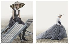 'Eigen-Sinnlich (Self-Sensual)' (Vogue Germany December 2014), Kati Nescher by Giampaolo Sgura.