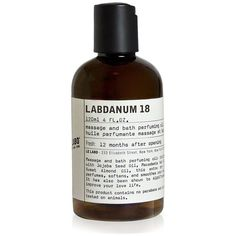 Le Labo Labdanum 18 Body Oil/4 oz. ($65) ❤ liked on Polyvore featuring beauty products, bath & body products, apparel & accessories, no color, body oil perfume, le labo, le labo perfume and animal perfume