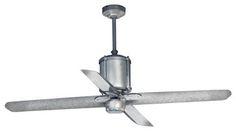 Machine Age Galvanized Ceiling Fan -ceiling-fans