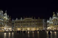 Grand Place a nuit