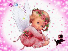 -Angels cherubs animated gif glitter graphics