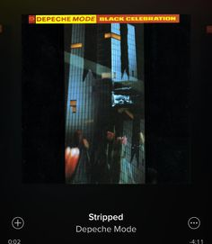 #stripped #depechemode #nowplaying #nowspinning #letmeseeyoustrippeddowntothebone by marquisdespade