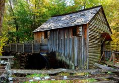 Old Grist Mill in Cades Cove in Great Smoky Mountain National Park in TN. I live about 20 miles from here