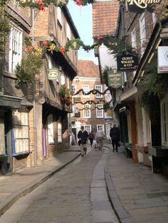 Shambles .. York, England