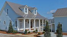 Výsledok vyhľadávania obrázkov pre dopyt blue house with grey roof