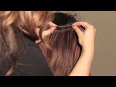 How to: Blend Short Hair with Extensions (Feat. #bellamihair)