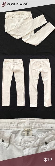 7S White Skinny Jeans Size 7 short, White Skinny Jeans Jeans Skinny