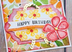 Stampin' Up! UK Feeling Crafty - Bekka Prideaux Stampin' Up! UK Independent Demonstrator: Fresh Fruit Birthday Gift Set Featuring the Suite of the Week - Fruit Stand from Stampin' Up! UK