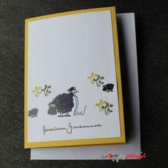Herzschlüssel: Gertrud und Elsbethcatsonappletrees, Stempel, Karten, Geburtstagskarten, #DIY