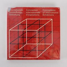 Conceptions of International Exhibitions Book by Hans Neuburg. An icon of the Swiss international typographic style. Via Javier Garcia