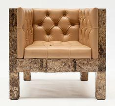 werner neumann birchwood chair  Органическая мебель, как часть эко-стиля.