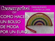 ▶ DIY: Como hacer un bolso de moda por 1$.Manualidades contra la crisis - YouTube