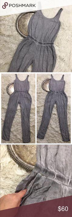"Anthro Cloth & Stone Jumpsuit Anthropologie Cloth & Stone jumpsuit, women's size XS.   Bust 30"" waist 24"" length 54"" inseam 28"" Anthropologie Pants Jumpsuits & Rompers"