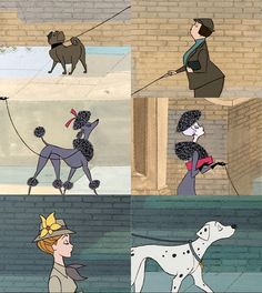 Image result for people in 101 dalmatians