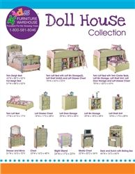 Ashley Furniture B140 21 Doll House Youth Dresser Multi Color Hailey 39 S Room Pinterest