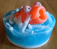 Froggy Squirt Toy Soap #etsy #handmade #gifts