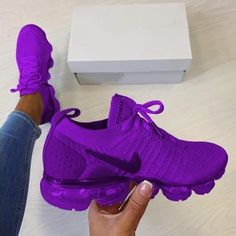Nike trainers in a beautiful purple. You will be the envy of all your friends wh. - Nike trainers in a beautiful purple. You will be the envy of all your friends when they see you wit - Me Too Shoes, Women's Shoes, Shoe Boots, Shoes Style, Casual Shoes, Dance Shoes, Cute Sneakers, Shoes Sneakers, Sneakers Adidas