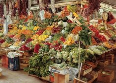 Barcelona Market Food and Drink Jigsaw Puzzle