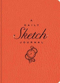 The Daily Sketch Journal (Red): A Visual Diary