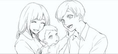 Osomatsu-san- Jyushimatsu's family X3 awww!!! So cute ^^ #Anime「♡」