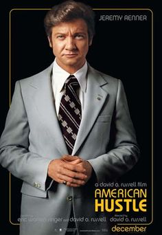 AMERICAN HUSTLE Jeremy Renner poster PICTURES PHOTOS and IMAGES