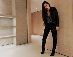 sachadreams: IRO Paris chegou a Lisboa Leather Pants, Black Jeans, About Me Blog, Posts, Fashion, Parisian Style, 80s Fashion, Modern Women, Lisbon