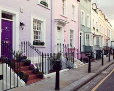 ysvoice:    | ♕ |  Notting Hill street - London  | by © Irene Suchocki