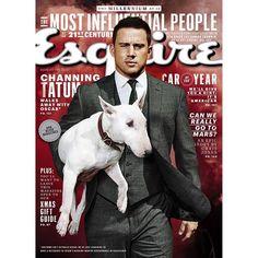 Channing Tatum fait la couverture du magazine Esquire en Ralph Lauren.