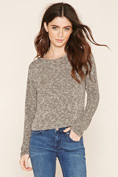 Marled Knit Top | Forever 21 - 2000181762