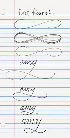 nibs.and.ink: Flourish no. 1