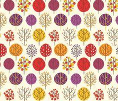 spoonflower: foliage