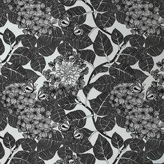 Hydrangea Garden-Charcoal